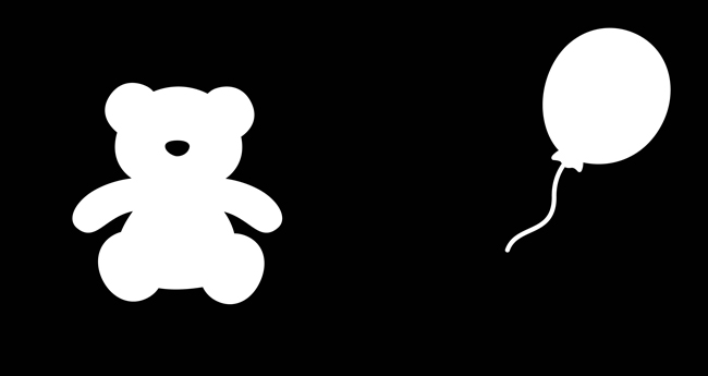 风车 黑白游戏-小宝贝的视觉触觉认知游戏
