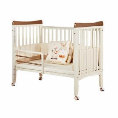 童心 葛瑞斯三合一嬰兒床(大床)-附聚酯棉嬰幼兒床墊