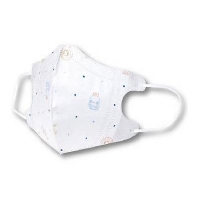 KUKU酷咕鴨 3D超立體醫用口罩-兒童專用5入