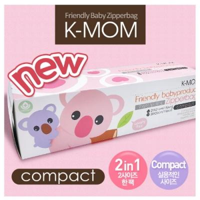 韓國 K-MOM 動物家族抗菌儲存袋-無尾熊波波(2合1)